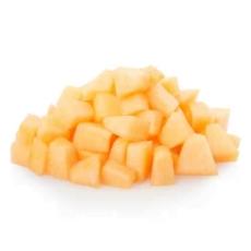 Melon en cubos