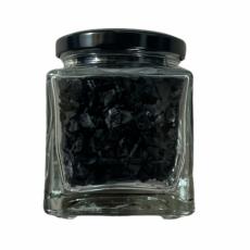 Sal en escamas negra